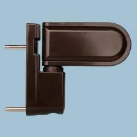 Петля дверная H21, коричневая